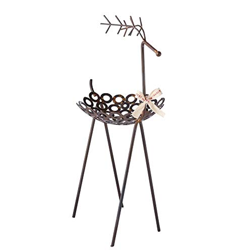 Mud Pie Reindeer Tall Bowl