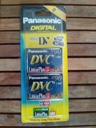 PANASONIC mini DV DVC 90