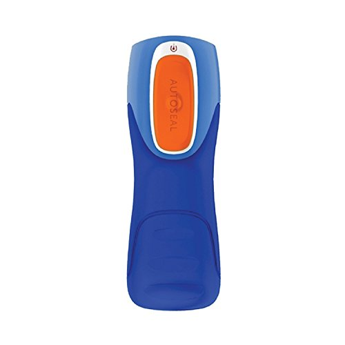 Contigo Trinkflasche Trekker, Blue/Orange, 0.55