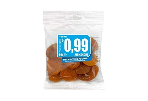Albicocche essiccate 0,99 - 80 gr - [confezione da 14]