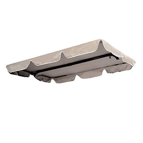 XZPQ Cubierta De Toldo Abatible, Protector Solar para Jardín Courtyard, Cubierta Impermeable para Sombrilla Al Aire Libre, Cubierta Antipolvo Park Rainproof,195x125x15cm