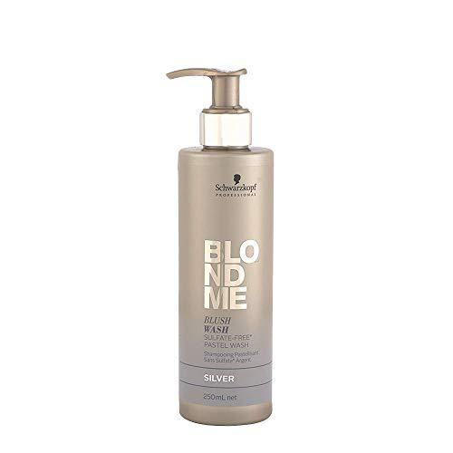 Schwarzkopf Blondme Blush Wash Silber - Shampoos, 250 ml