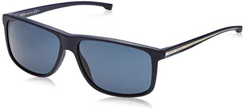 Hugo Boss Boss 0875/S 9A 05X Gafas de sol, Azul (Mtbluee Cry/Bluette), 60 Unisex-Adulto
