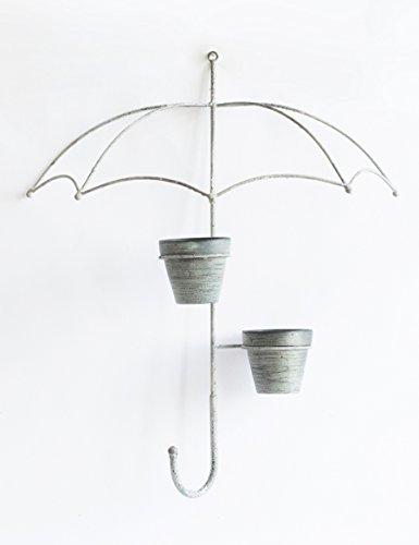 Étagères à fleurs polyvalentes Creative Home Décorations murales Hook grand parapluie Décoration murale décorative vases murales Pots Home Coat Hook Pour intérieur et extérieur (taille : 63*53cm)