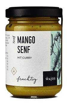 Mango Senf mit Curry 145ml I Wajos Gourmet