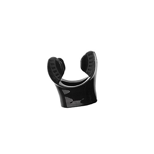 SCUBAPRO Spectra Ersatz-Mundstück für Schnorchel, Farbe:schwarz