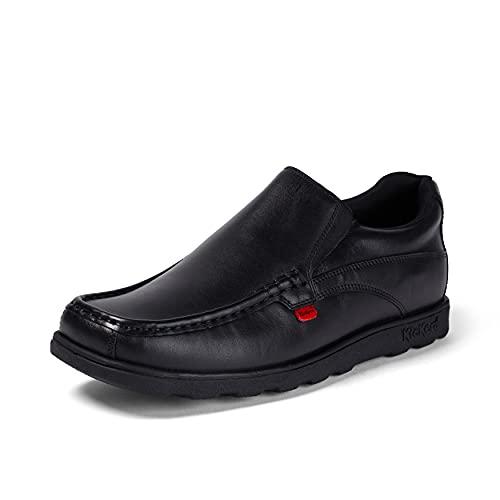Kickers Men's Fragma15 Slip MTO Lthr Am Leather School Shoes, Black...