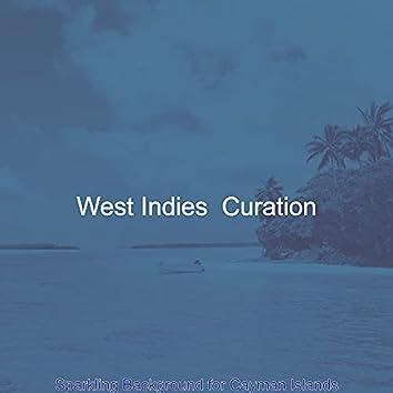 Sparkling Background for Cayman Islands