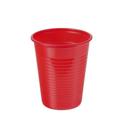 Gobelet/lot de 100 gobelets plastique (rouge) [Fournitures de bureau]