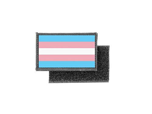 Aufnäher patch aufbügler gedruckt flagge fahne transgender