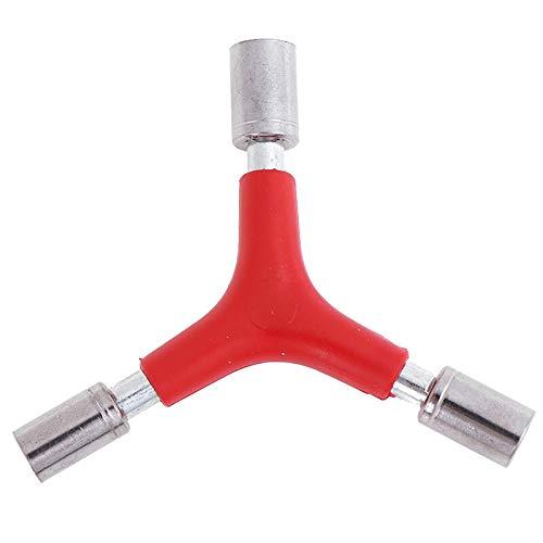 JINKEBIN 1 unids tipo Y en forma de 8/9/10mm exterior llave hexagonal llave Socket Herramientas bicicleta Accesorios