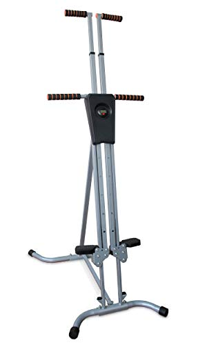 PS Vertical Climber Exercise Machine,Adjustable Cardio Training Mountain Stepper Fitness Equipment for Home Gym Workout