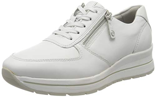 Tamaris Damen 1-1-23740-24 Sneaker, Weiß (White 100), 38 EU