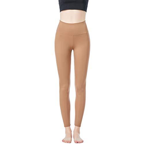 JOPHY & CO. Damen-Leggings, lang, bi-elastisch, aus Stoff (Artikelnummer: 9839), Beige S