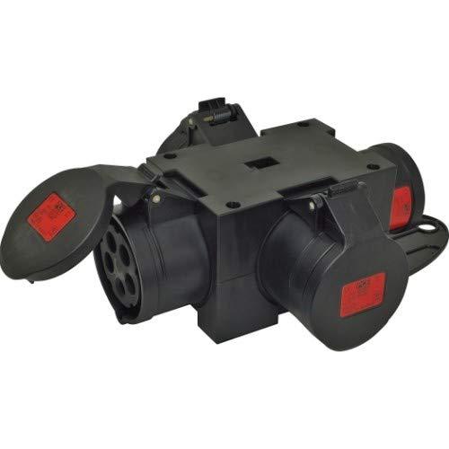 Plug & Music - Distribuidor compacto sin cable (230 V, CEE 16 A, 230 V ~ sin cable, CEE 16 A, 400 V~ 3)