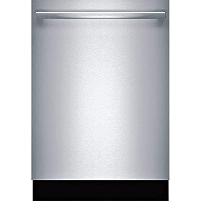 """Bosch SHXM88Z75N 24"""" 800 Series Built-in Dishwasher with 16 Place Settings, 6 Wash Cycles, MyWay 3rd Rack, CrystalDry and 40 dBA (Bar Handle)"""