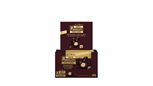 Pernigotti, Perle Nero, Nocciole Intere Tostate (40%) Ricoperte di Cioccolato Fondente Extra (Cacao 51 %), Senza Olio di Palma, Senza Glutine, 48 Pezzi x 30 gr (1.44 kg)