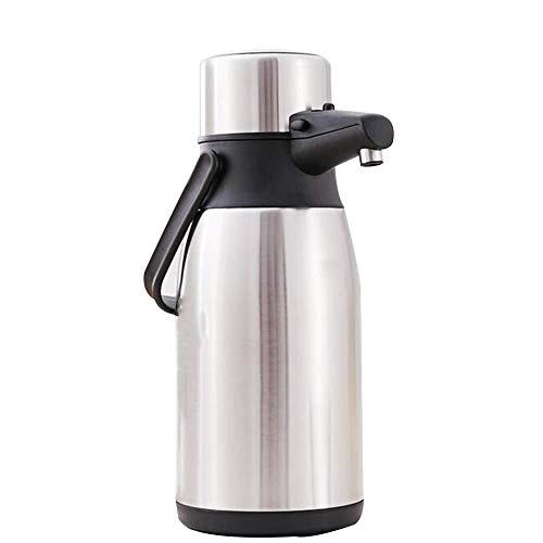 UCYG Thermische Karaf, Thermos, Airpot Thermische Koffie Cara Airpot Thermische Koffie Carafe/Hever Actie/Roestvrij Staal Geïsoleerde Thermos / 24 uur Warmtebehoud, Pomp Actie Airpot