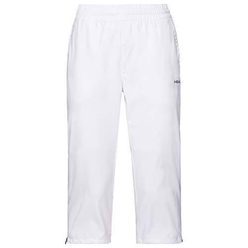 HEAD Damen Club 3/4 Pants W Trousers, weiß, M EU