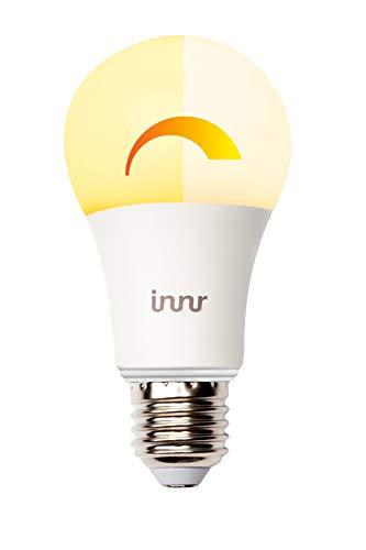 Innr E27 ampoule LED connectée 2200K - 2700K (pilotable via smartphone, moyeu...