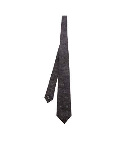 Z ZEGNA Luxury Fashion Herren Z7D931L7B Grau Seide Krawatte   Frühling Sommer 20