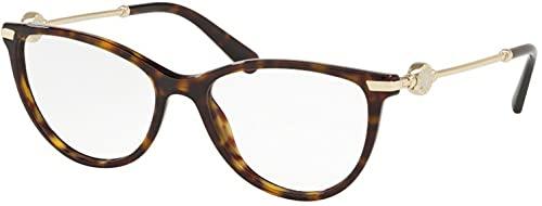Bulgari 0BV 4162 504 52 Gafas de sol, Marrón (Dark Havana), Unisex Adulto