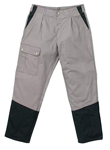 Hydrowear 044488 Guilford Image Line werkbroek, 60% katoen/37% polyester/3% elasthan, 48 maten, grijs/zwart