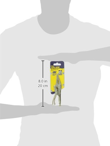 IRWIN VISE-GRIP Original Locking Pliers, Long Nose, 4-Inch (1602L3)