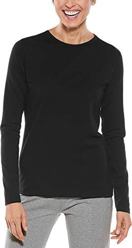Coolibar T-Shirt de Protection Anti-UV pour Femme XL Noir