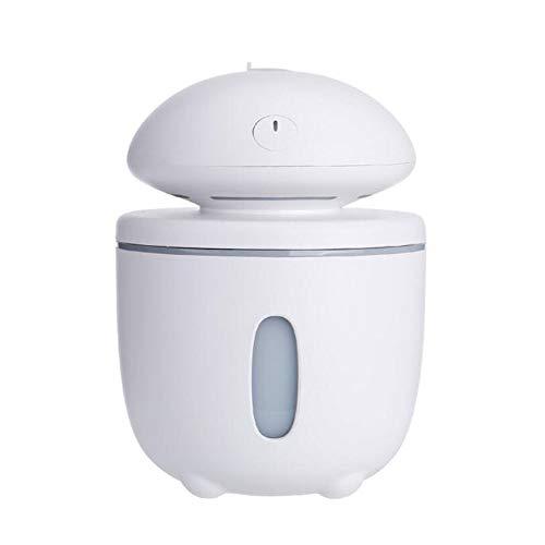 HRFHLHY grote Fungo luchtbevochtiger auto USB luchtbevochtiger aromatherapie camera nachtlicht ham luchtbevochtiger, wit