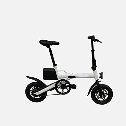 LILIJIA Bicicleta Eléctrica Plegable 36V/250W con Tres Modos Trabajo, Aleación Aluminio Liviana...