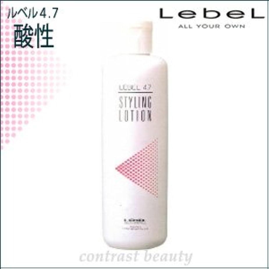 観客補助番目【X2個セット】 ルベルコスメティックス/LebeL 4.7酸性 スタイリングローション 400ml