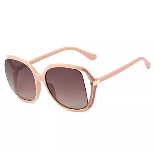 BAJIE Gafas de Sol Gafas de Sol ovaladas Grandes Gafas de Sol de Tono de Moda para Hombres y Mujeres Gafas de Sol de Moda Gafas de Sol Unisex Uv400