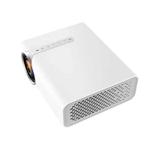 Support HD PROYECTOR Mini Micro PROYECTOR HD 1080 Portátil Full HD 1080P Compatible con USB HD SD AV VGA para el Cine en casa with Projection Function (Color : White, Size : 18.9 * 15.7 * 7.5cm)