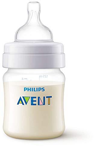 Philips Avent Antykolkowa butelka dla niemowląt 125 ml przezroczysta