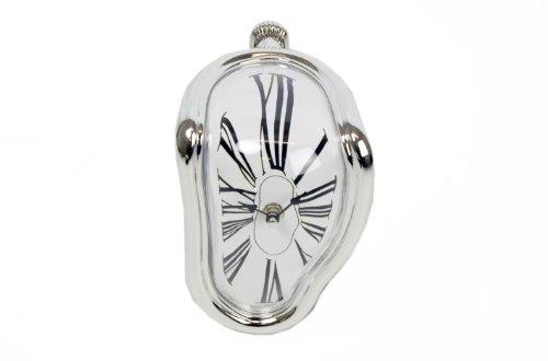 Sil Deko-Uhr im Stil von Salvador Dahli