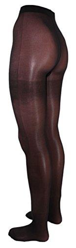 Fibrotex Damen Feinstrumpfhose Strumpfhose 40 DEN uni, Farben alle:16 schwarz, Größe:XXL (48/50)
