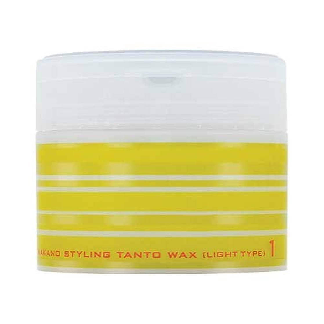 膿瘍呼び起こす香りナカノ スタイリング タントN ワックス 1 ライトタイプ 90g 中野製薬 NAKANO