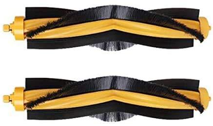 De Galen Piezas de repuesto 2 piezas de repuesto para cepillo principal compatible con Ecovacs Deebot OZMO 900 901 930 accesorios de vacío accesorios