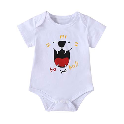 Anglewolf ha ha ha Baby Body Druck Personalisiert Babykleidung Strampler Unterwäsche beeindruckend Geschenk Überraschung Geburtstag T-Shirt Baby-Nachtwäsche