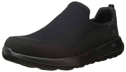 Skechers Men's Gowalk Max Privy-Slip-On Walking Shoe Sneaker, Black, 9.5 Extra Wide US