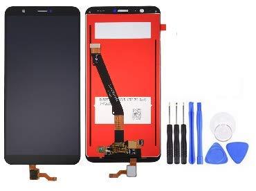 Theoutlettablet® capacitief full LCD-scherm met digitizer touch voor smartphone Huawei P Smart + gereedschap - zwart