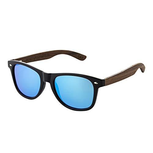 Gafas de sol ultra de madera polarizadas gafas de sol de madera UV400 para hombre y mujer