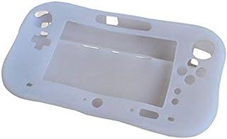 OSTENT Capa de gel de proteção total de silicone macio compatível com Nintendo Wii U Gamepad cor branca