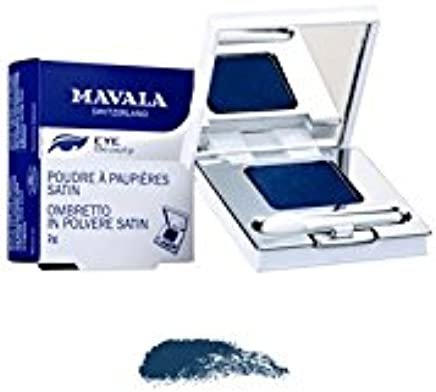 Satin Eyelid Powder - Bleu Baltique (Baltic Blue)