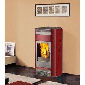 Edilkamin Estufa de Pellets 18Kw Adria Italiana chimeneas