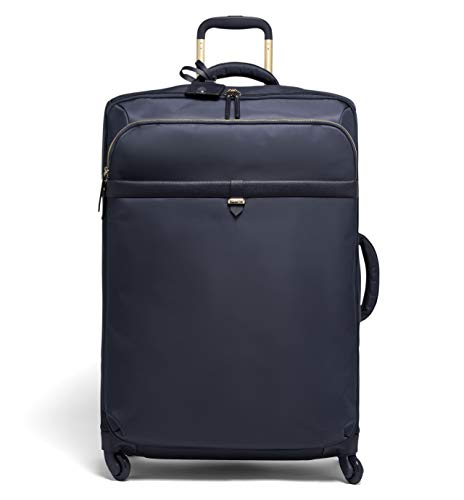 Lipault - Plume Avenue Spinner 72/26 Luggage - 28' Suitcase Rolling Bag for Women - Night Blue