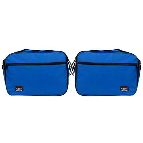 GREAT BIKERS GEAR - Bolsillos interiores para Triumph Tiger 800/800XC, color azul