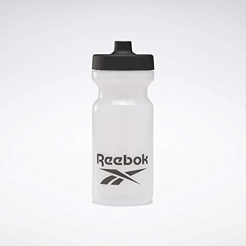 Reebok TE Bottle 500 Botella Fitness y Ejercicio, Adultos Unisex, Blanco(Blanco), Talla Única