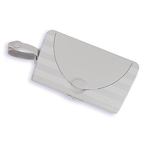 Ubbi on-the-go Wischtuchspender, mehrfarbig- Gray Wipe Dispenser